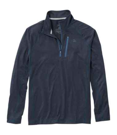 Men's Bean's Quick Dry Trail Tee 1/4 Zip