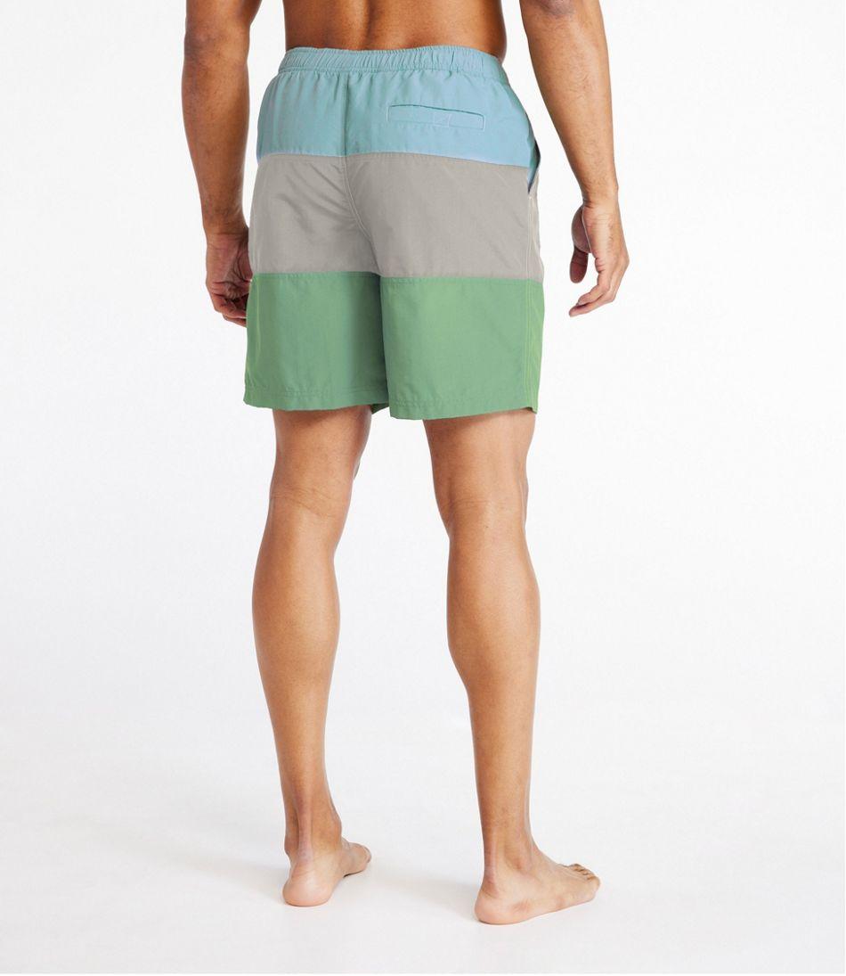 "Classic Supplex Sport Shorts, 8"" Colorblock"