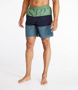 "Men's Classic Supplex Sport Shorts, 8"" Colorblock"