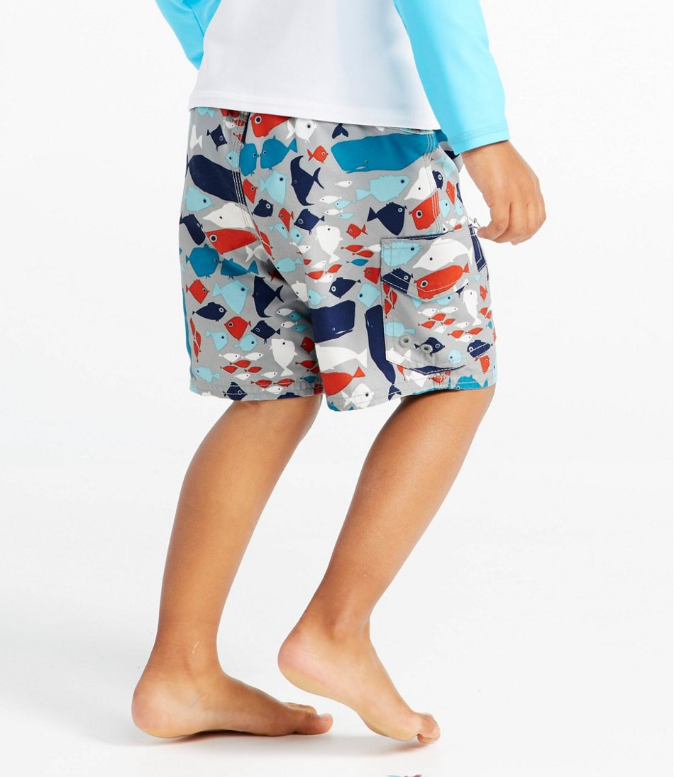 Infant and Toddler Boys' BeanSport Swim Shorts, Print
