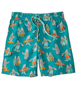 Toddler BeanSport Swim Shorts, Print
