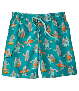 Toddler BeanSport Swim Shorts, Print