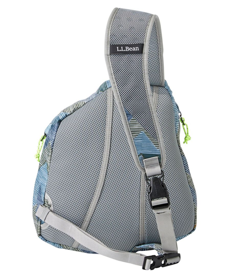 Adults' L.L.Bean Stowaway Sling Pack, Print