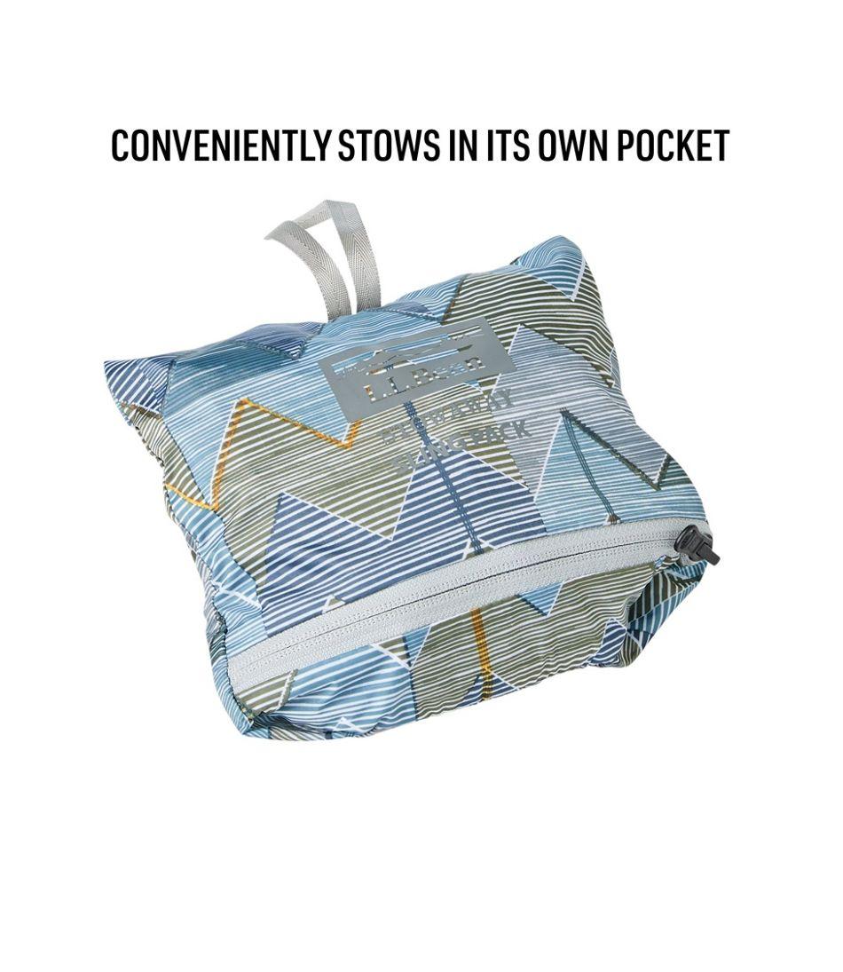 L.L.Bean Stowaway Sling Pack, Print