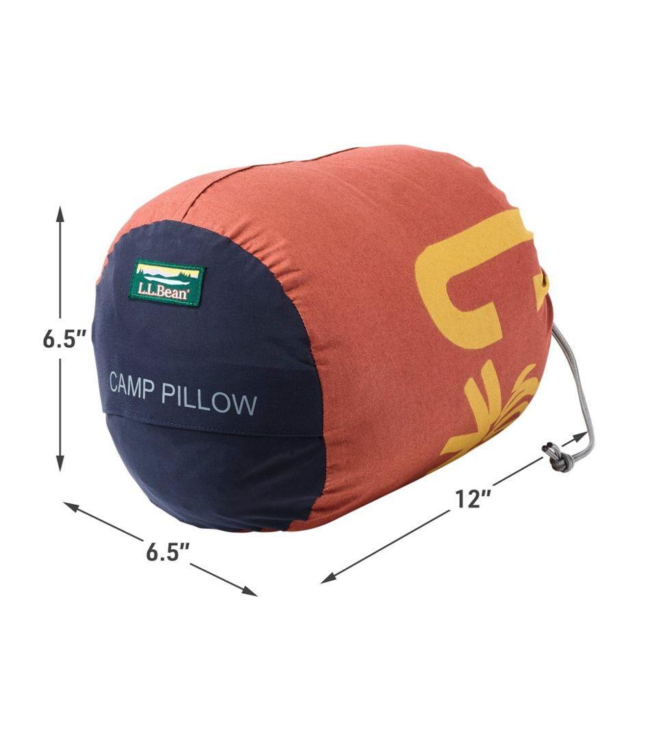 L.L.Bean Camp Pillow, Print