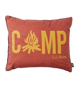 L.L.Bean Camp Pillow, Print