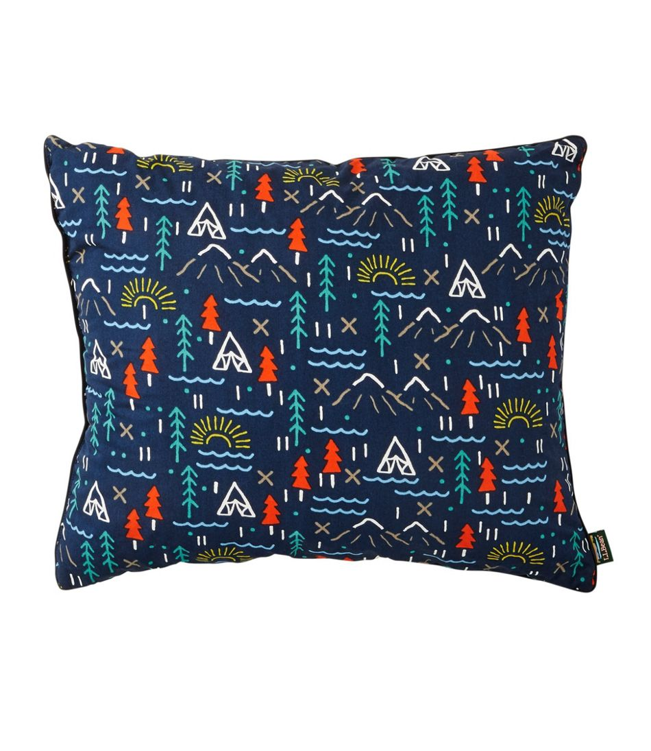 L.L.Bean Camp Pillow, Graphic