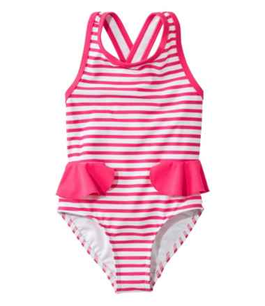 Infant and Toddler Girls' Tide Surfer Swimsuit, One-Piece