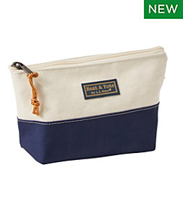 Maine Canvas Zip Pouches