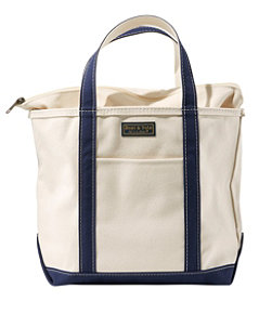 Boat and Tote, Zip-Top with Pocket, Large