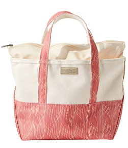 High-Bottom Boat and Tote, Zip-Top