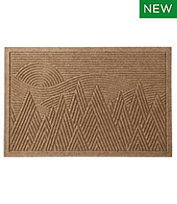 Everyspace Recycled Waterhog Doormat, Mountain Scene