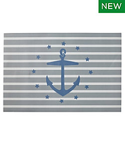 Easy Care Floor Cloth, Anchor