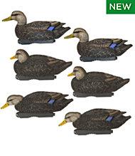 Avery Pro-Grade Decoys, Black Duck 6-Pack