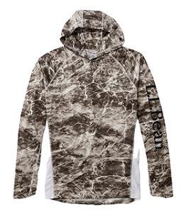 Men's Tropicwear Knit Hoodie, Print Tall