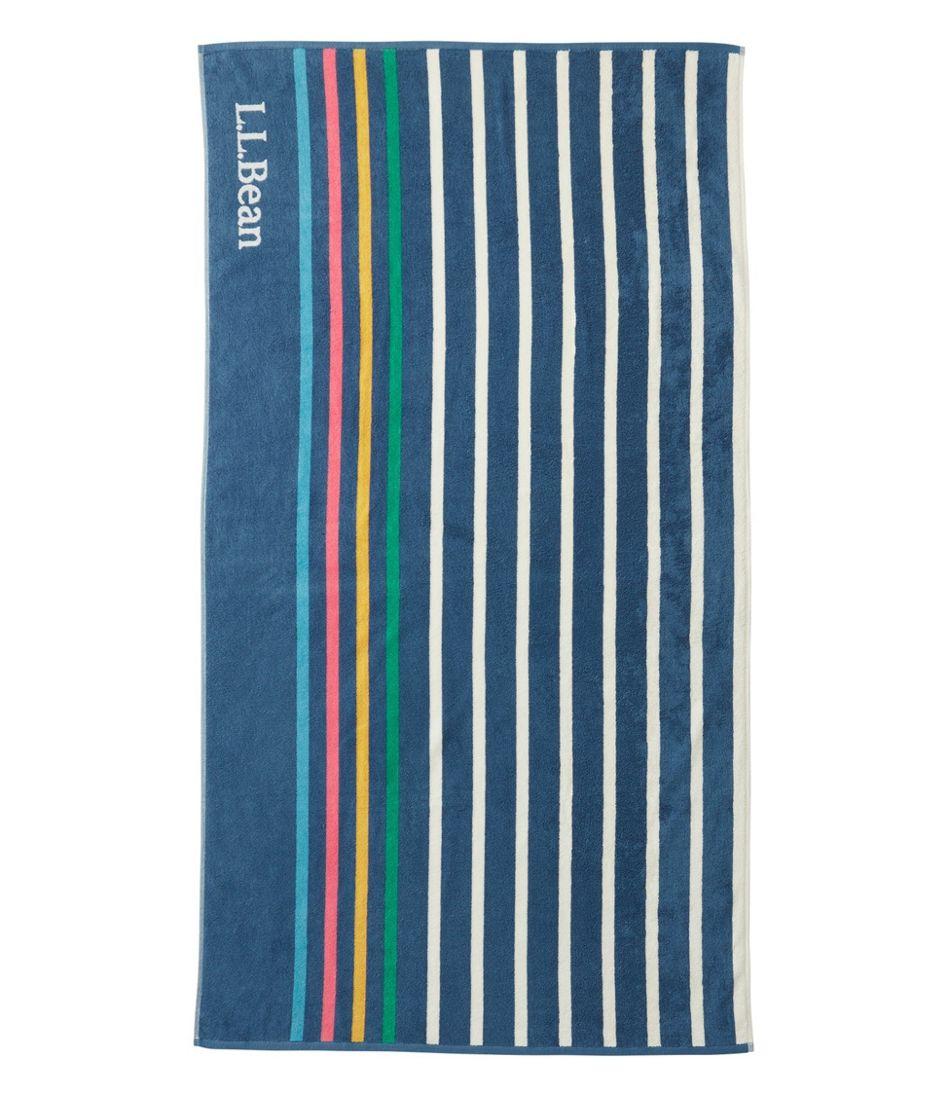 Seaside Beach Towel, Rugby Stripe