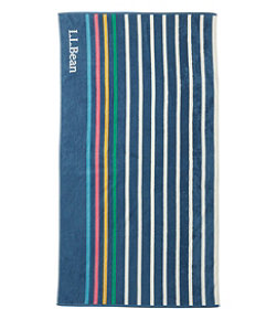 Seaside Beach Towel, Rugby Stripe