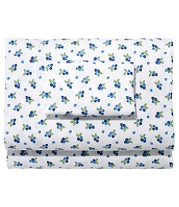 Blueberry Flannel Sheet Collection