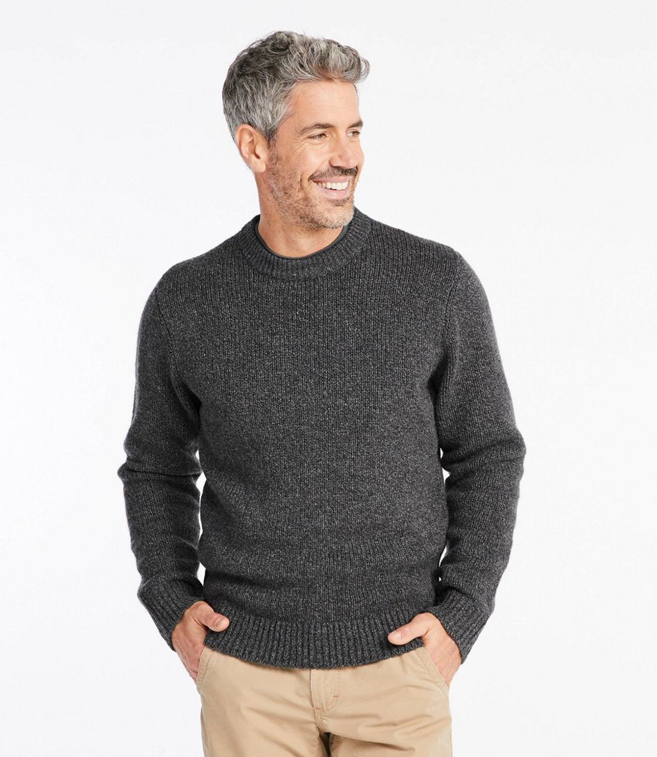Classic Ragg Wool Sweater, Crewneck