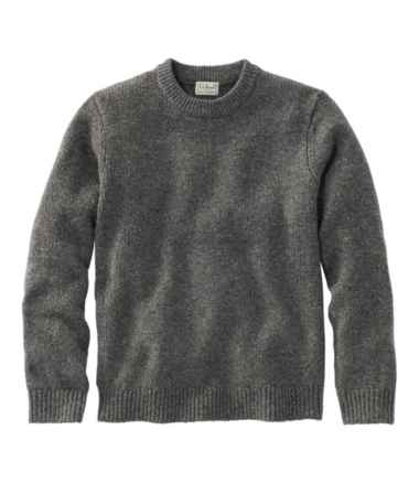 Men's Bean's Classic Ragg Wool Sweater, Crewneck