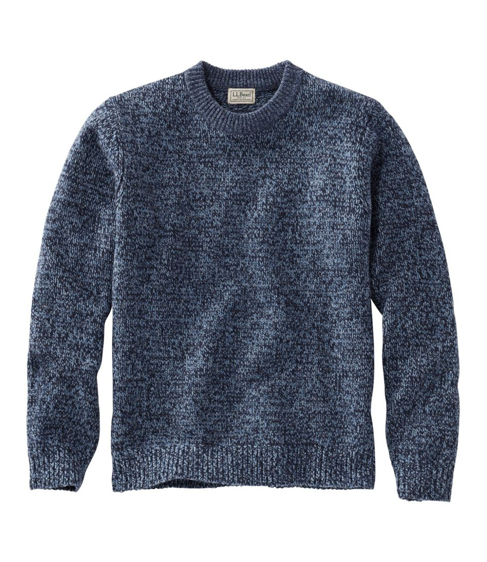 Classic Ragg Wool Sweater, Crewneck