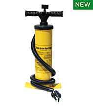Advanced Element Double Action Hand Pump With Pressure Gauge