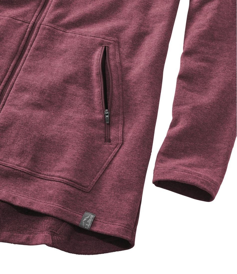 Bean's Cozy Full-Zip Hooded Sweatshirt