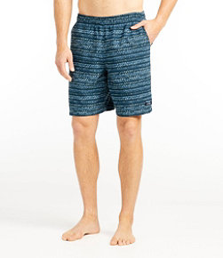 "Men's Classic Supplex Sport Shorts, 8"" Print"