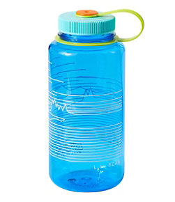 Nalgene Wide Mouth Water Bottle, 32 oz. L.L.Bean Print