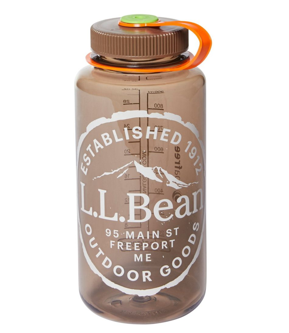 Nalgene Wide Mouth Water Bottle, 32 oz. L.L.Bean Print
