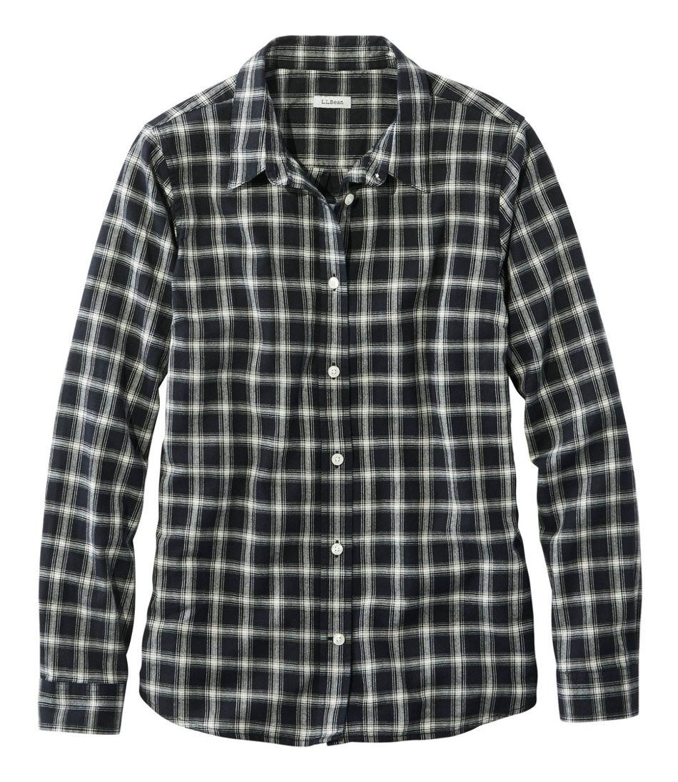 Women's Organic Flannel Shirt