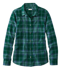 Women's Organic Flannel Shirt