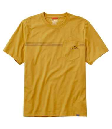 Men's Bean's Performance Pocket Tee Short Sleeve