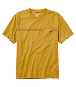 Men's Bean's Performance Pocket Tee Short Sleeve Regular