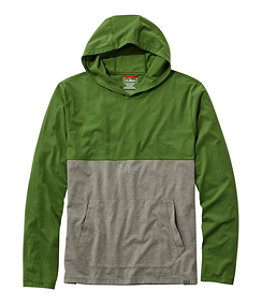 Men's L.L.Bean Performance Hooded Tee, Long-Sleeve