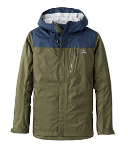 Men's Trail Model Rain Jacket, Colorblock