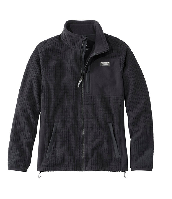 Mountain Classic Windproof Fleece Jacket, Black, large image number 0