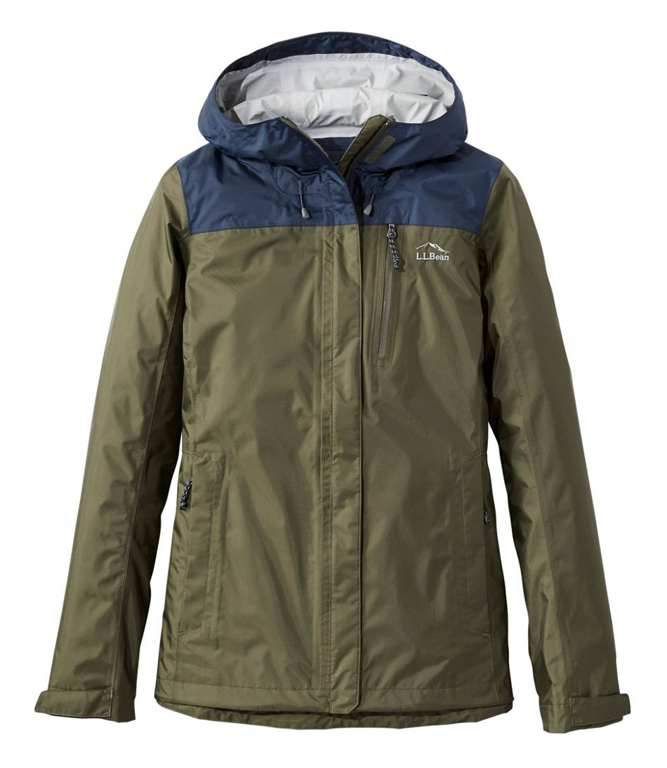 Women's Trail Model Rain Jacket, Colorblock