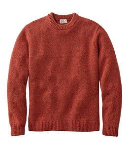 Men's Bean's Classic Ragg Wool Sweater, Crewneck Regular