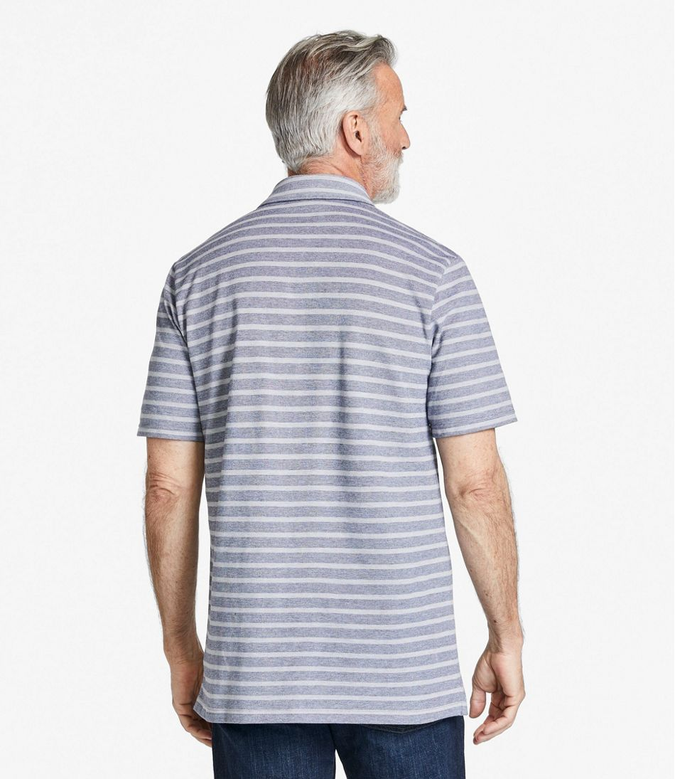 Men's Stonecoast Stretch Polo, Short-Sleeve Stripe
