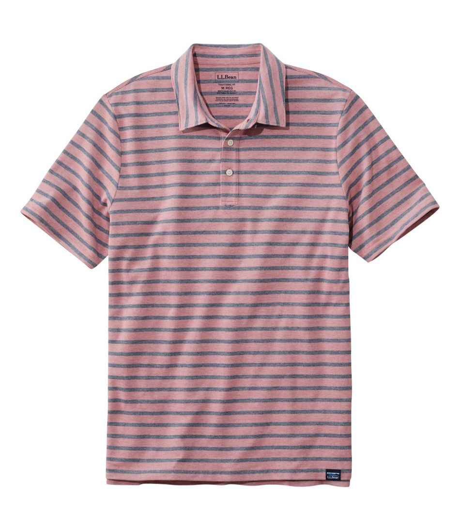 Men's Stonecoast Stretch Polo, Short-Sleeve Stripe