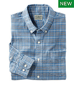 Comfort Stretch Oxford Shirt, Traditional Fit, Plaid