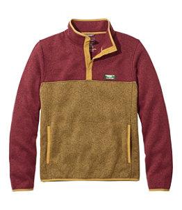 Men's L.L.Bean Sweater Fleece Pullover, Colorblock