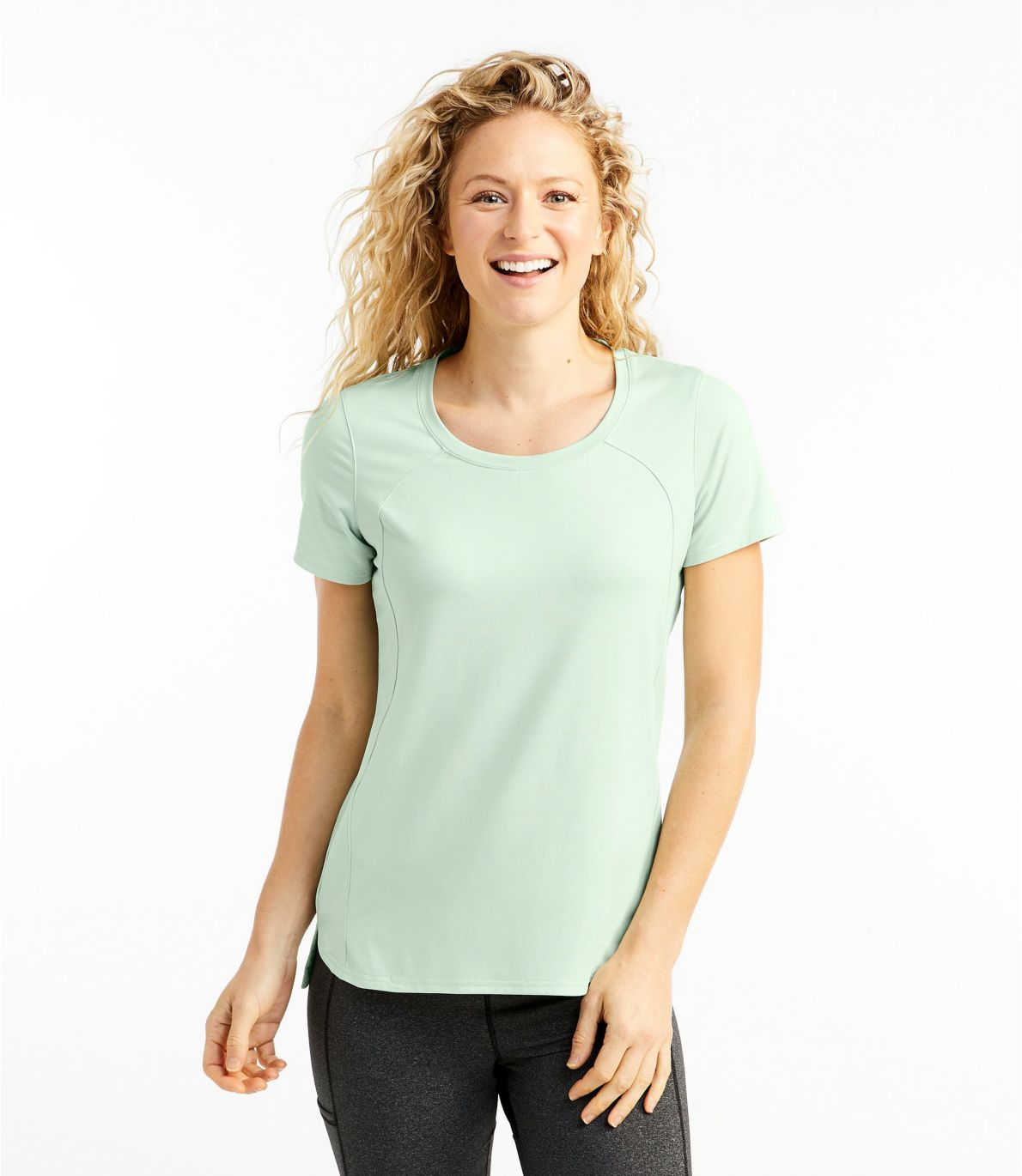 Women's All-Day Active UPF Tee, Short-Sleeve