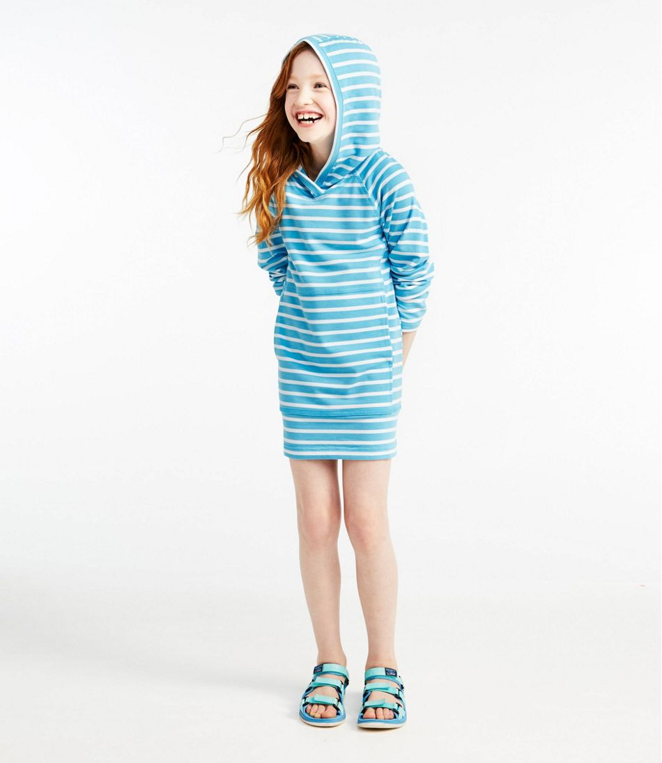 Girls' Sun-and-Surf Cover-Up, Stripe