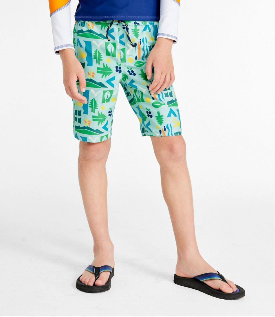 Boys' BeanSport Swim Shorts, Print