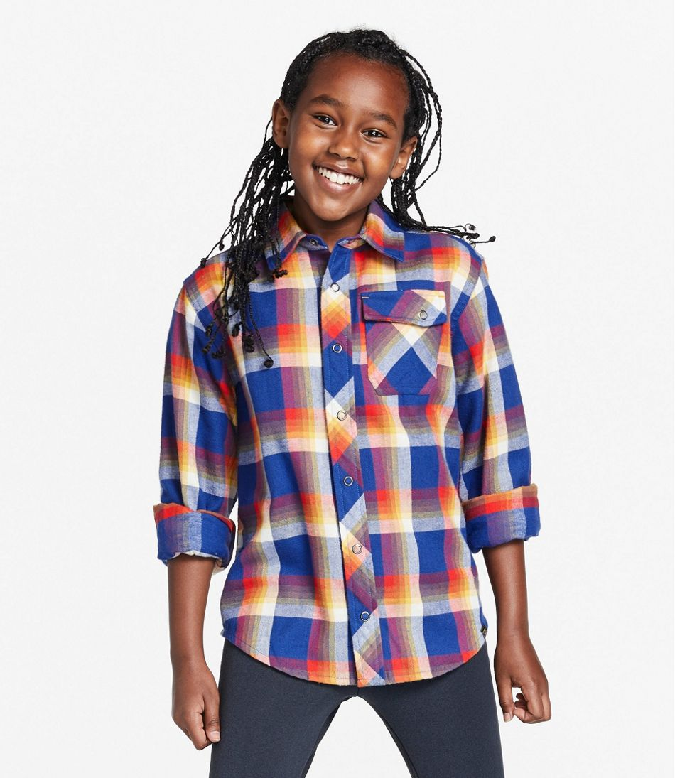 Kids' Flannel Shirt
