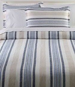 Sunwashed Linen Comforter Cover Collection