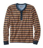 Men's Signature Henley, Long-Sleeve, Stripe