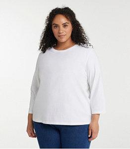 Women's Saturday T-Shirt, Crewneck Three-Quarter-Sleeve
